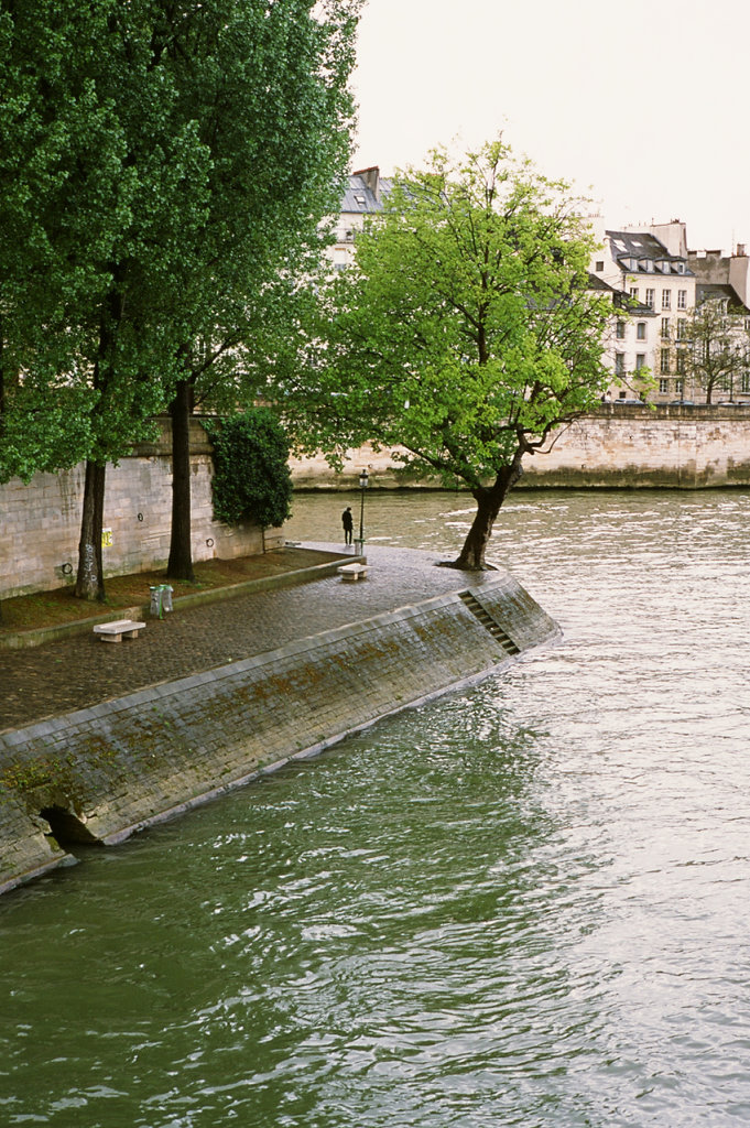 Sadness at the Seine, Paris, 2015